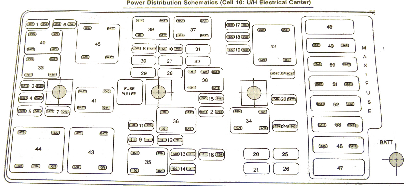 C6 Corvette Fuse Box   Wiring Diagram Images